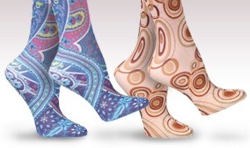 New Colors in Printed Hosiery!