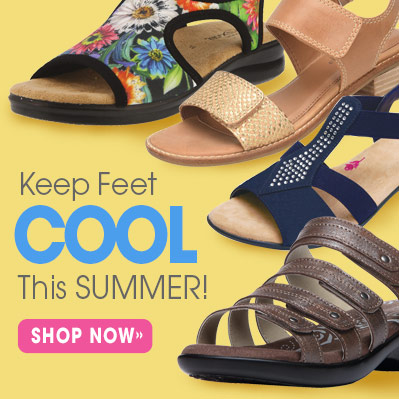 Keep Feet Cool This Summer