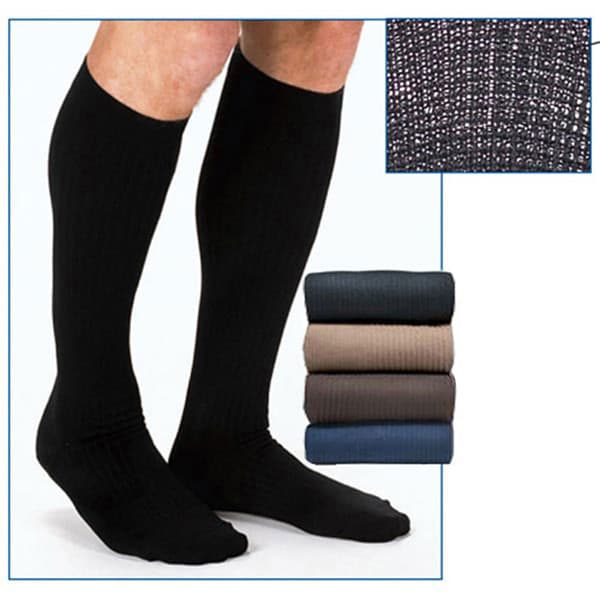 6ad567b6751 Jobst® Men s Firm Support Dress Socks - Graduated Compression Trouser Socks