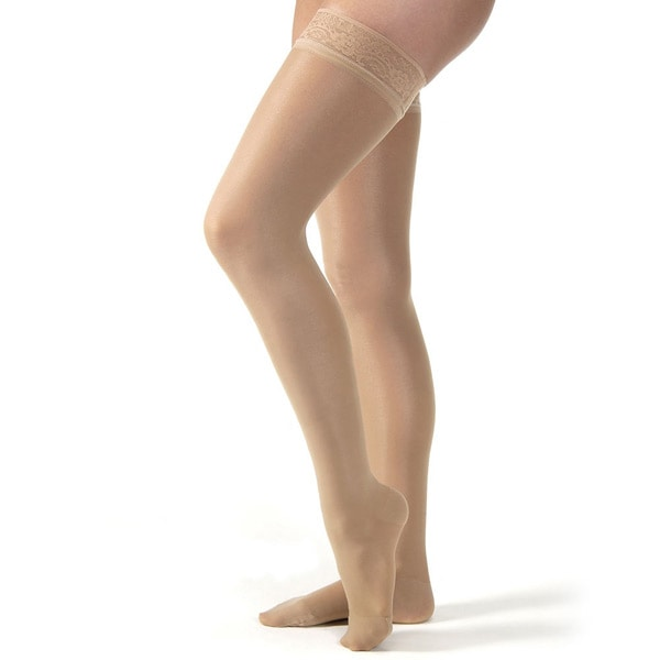 14dd02d6402 Jobst® Firm Support Ultrasheer Thigh High Stockings - Petite