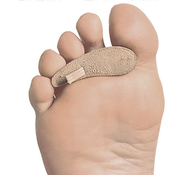 how to clean toe pads hot or clod