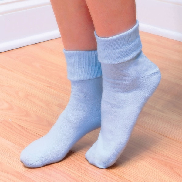 3dd0377dcfe Buster Brown® 100% Cotton Fold Over Socks - Women s (3 Pair Pack ...