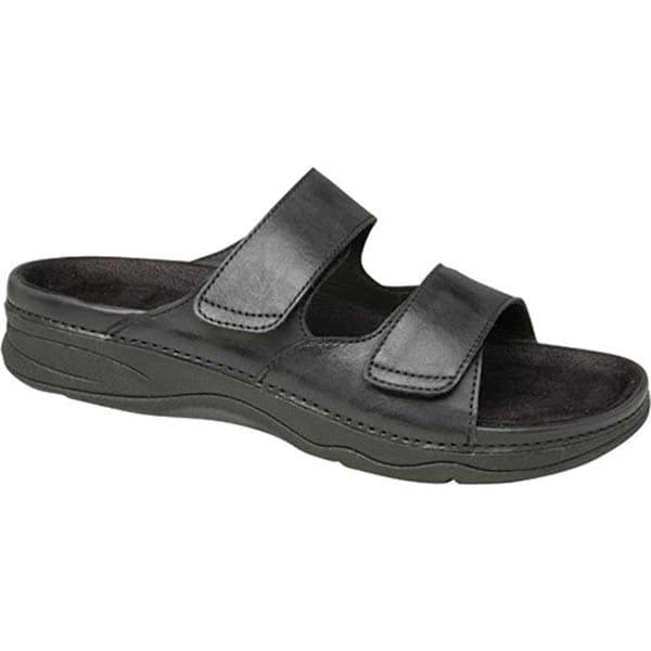 fd544313e Drew®Barefoot Freedom® Milan Sandal - Black Leather