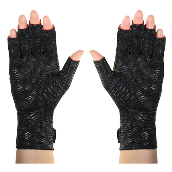 Thermoskin Half Finger Arthritis Gloves - Pain Relieving Fin