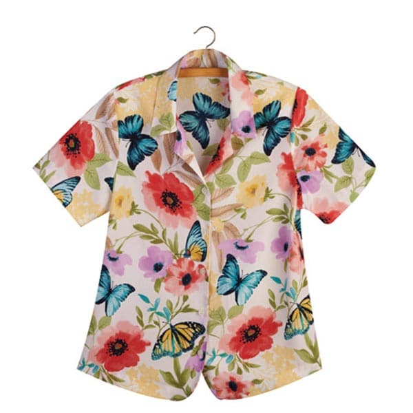 ALFRED DUNNER FLOWER PRINT BLOUSE at Sears.com