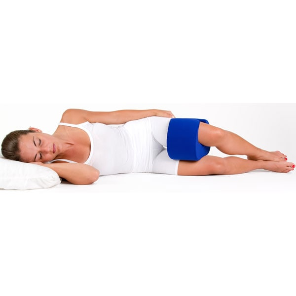 Stay Put Knee Pillow Wrap Around Therapeutic Sleep Support