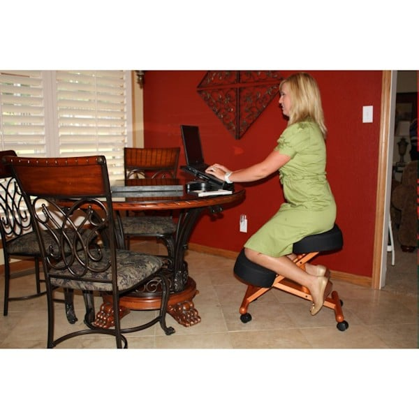 Classic Wooden Kneeling Chair at Support Plus FE7512