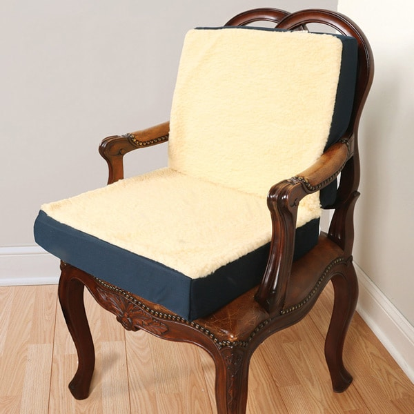Dual Comfort Chair Cushion - Back and Seat Support | 4 ...