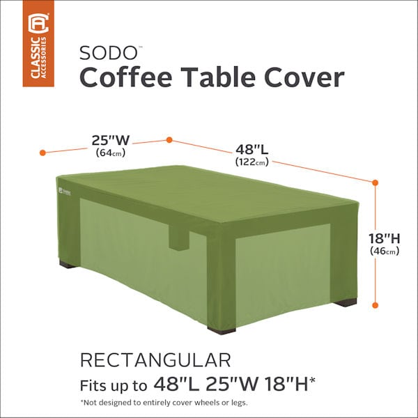 Rectangular Coffee Table Cover Sodo At Support Plus Ff9282