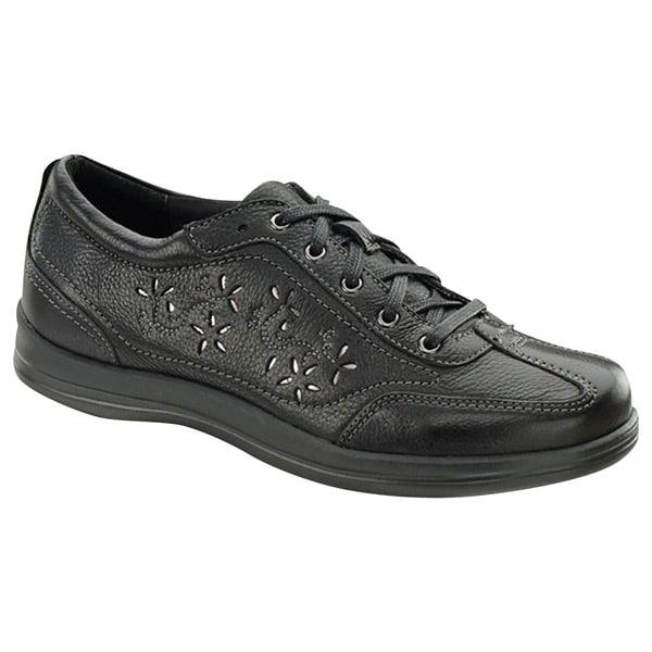 Comfort Shoe Women/'s Softspots Bonnie Lite Black Leather Supportive Casual
