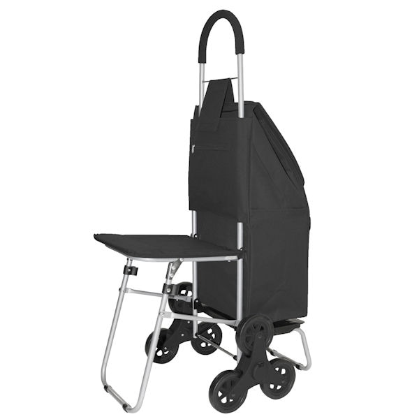 Trolley Dolly Stair Climber with Seat