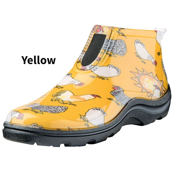 sloggers chicken print ankle boots at support plus fg6312