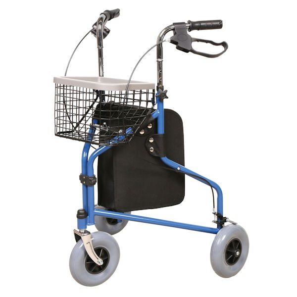 Support Plus Deluxe 3 Wheel Rollator With Storage 2 Reviews 5 Stars Fg6486