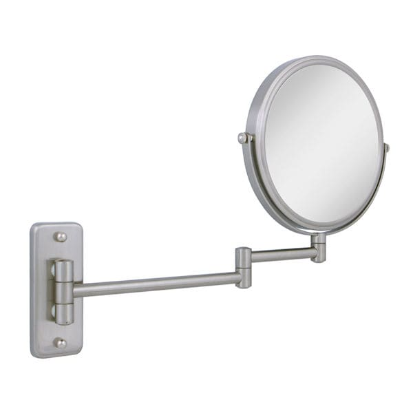 Bathroom mirror wall mount with extension arm