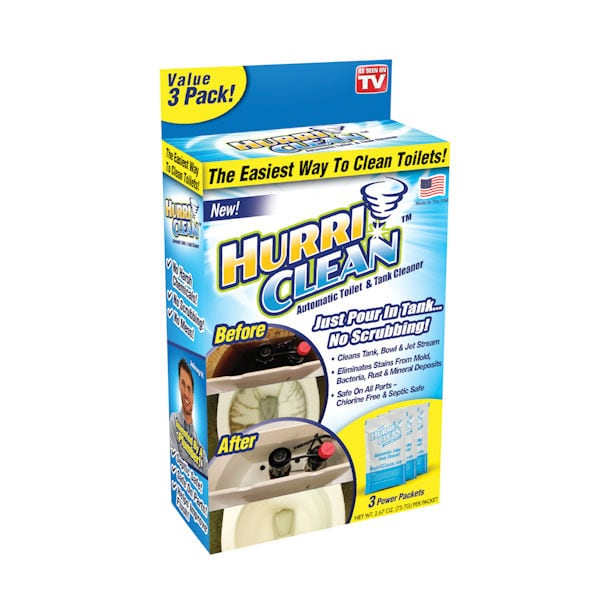Hurriclean Automatic Toilet Cleaner 1 Review 4 Stars