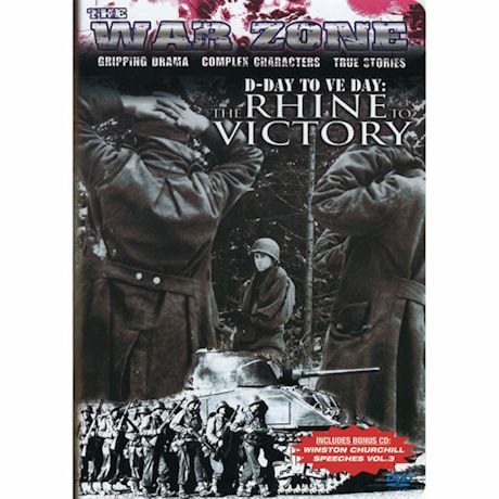 The War Zone: D-Day To VE Day The Rhine To Victory DVD & CD