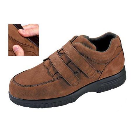 Drew® Traveler Velcro® Cognac Nubuck Shoe