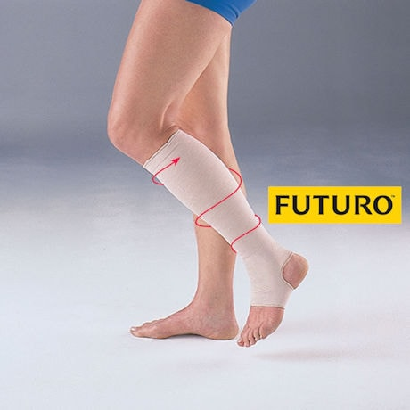 Futuro® Firm Support Open Toe/Open Heel Knee High Stocking - 20-30 mm/Hg