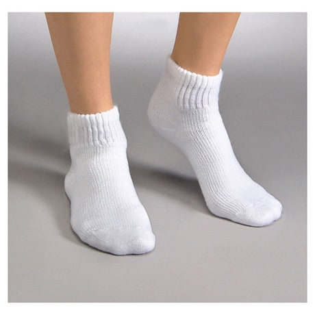Jobst® Sensifoot Unisex Mild Compression Mini-Crew Socks