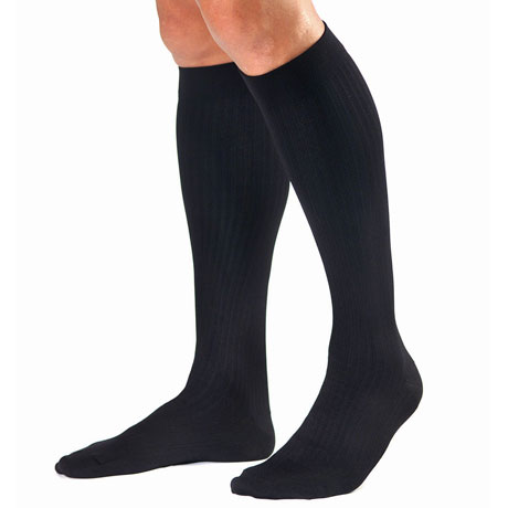 Jobst® Men's Opaque Very Firm Compression Graduated Compression Dress Socks