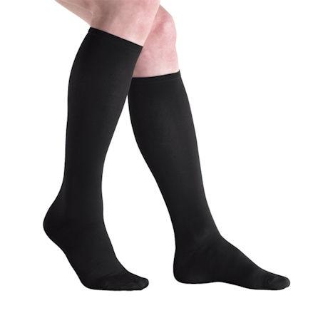 Jobst® Mens Opaque Mild Compression Graduated Compression Dress Socks