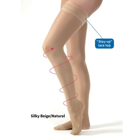 Jobst® Firm Support Ultrasheer Thigh High Stockings