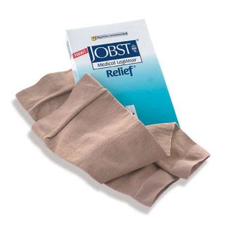 Jobst® Relief® Very Firm Support Open Toe Knee High Stockings
