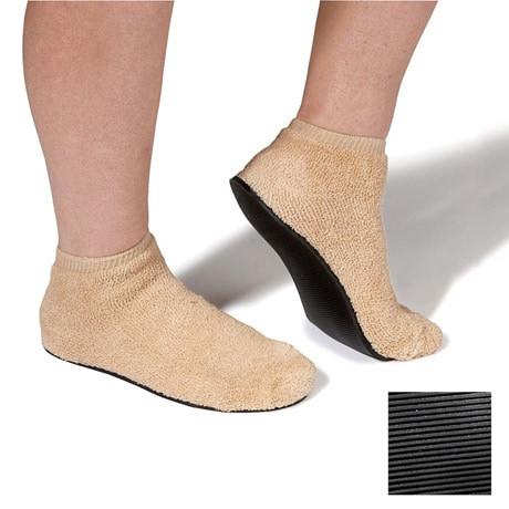 Unisex Non-Skid Sole Slipper Socks
