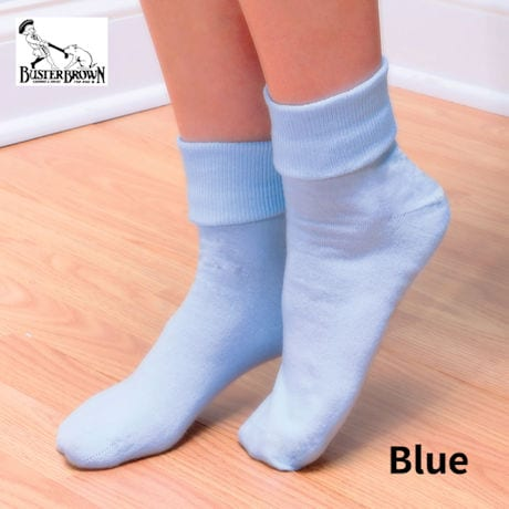 Buster Brown® 100% Cotton Women's Crew Socks - 3 Pack