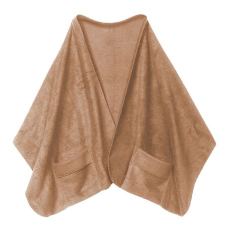 Fleece Pocket Shawl