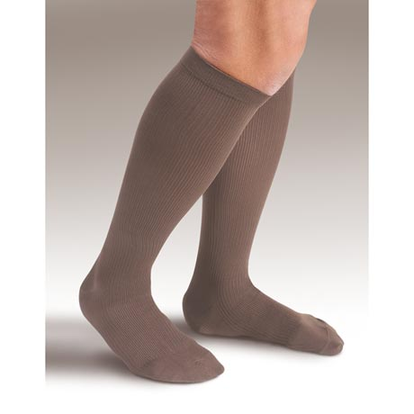 Support Plus® Men's Opaque Firm Compression Dress Socks