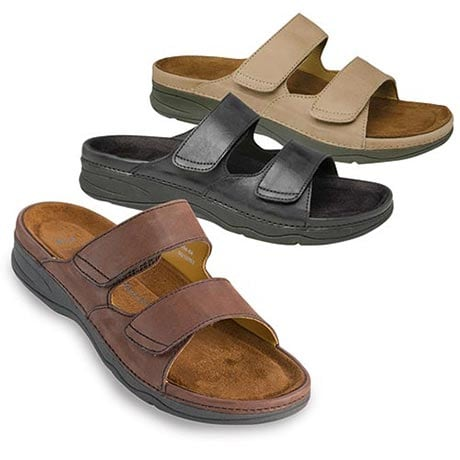 Drew®Barefoot Freedom® Milan Sandal - Brown Leather