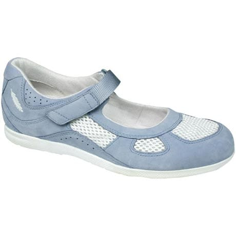 Drew® Delite For Women - Sky Blue Nubuck