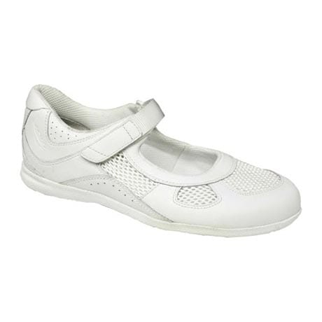 Drew® Delite For Women - White Leather/Mesh