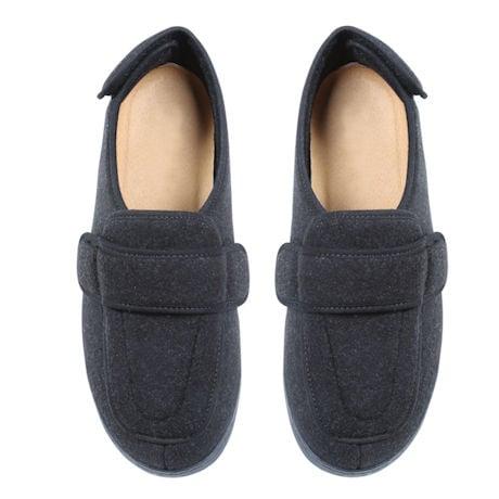 Foamtreads® Men's Comfort Wool Slipper for Swollen Feet