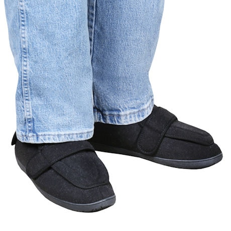 Foamtreads® Men's Comfort Wool Slipper for Swollen Feet