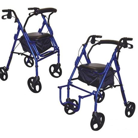 Duet Transport/Rollator Chair
