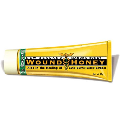Dr Nordyke's Manuka Wound Honey - 100% Organic Honey & Aloe for Cuts and Burns