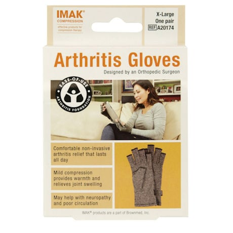 Pain Relieving Gloves Help Reduce Stiffness and Swelling in Fingers and Hands