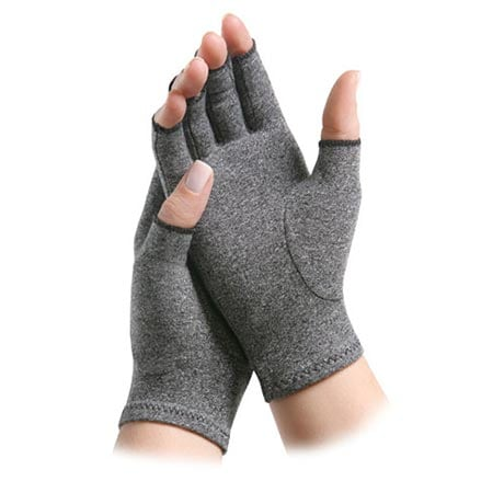 Pain Relieving Gloves Help Reduce Stiffness and Swelling in Fingers and Hands Size Large - 1 Pr. Day and 1 Pr. Night