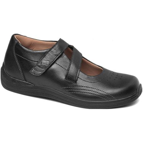 Drew® Orchid Shoes - Black Full Grain