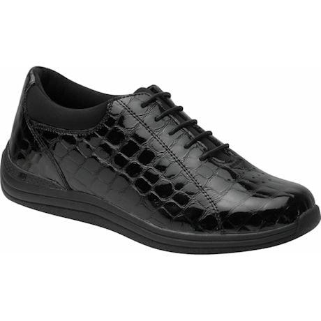 Drew® Tulip Shoe - Black Croc