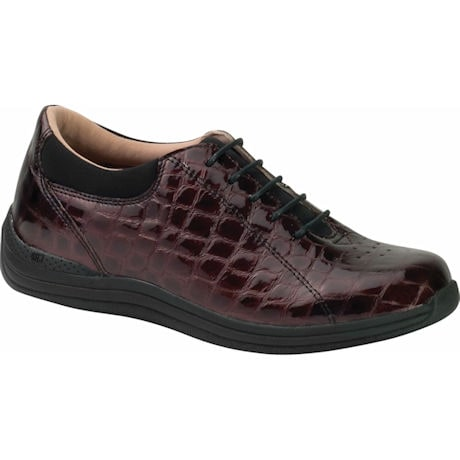 Drew® Tulip Shoe - Brown Croc