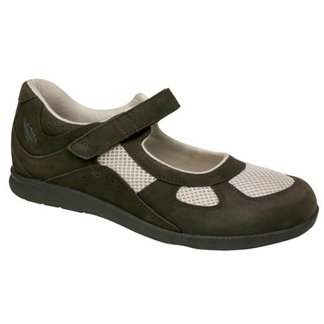 Drew® Delite For Women - Brown Nubuck/Bone Mesh