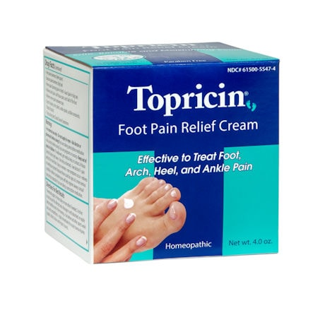 Topricin® Foot Pain Relief Cream - 4 oz.