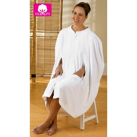 DELUXE TERRY BATH CAPE