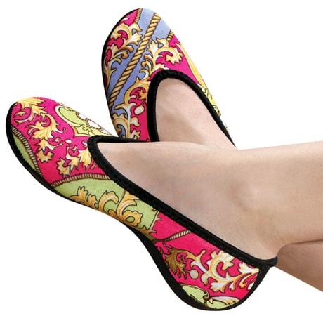 Nufoot Women's Ballet Flat with Non-Slip Soles