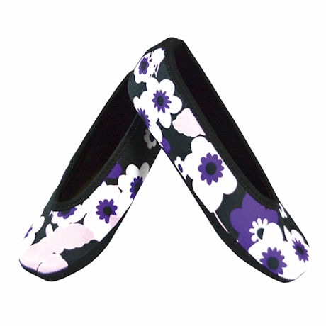 Nufoot Womens Ballet Flat with Non-Slip Soles