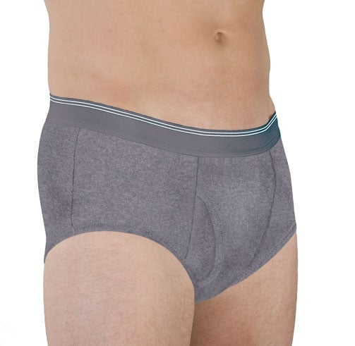 Wearever® Men's Washable Maximum Protection Incontinence Brief
