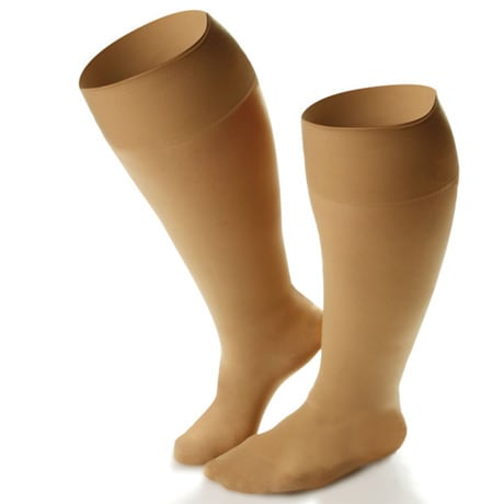Dr Comfort® Wide Calf Moderate Support Knee High Stockings - Women's Extra Roomy